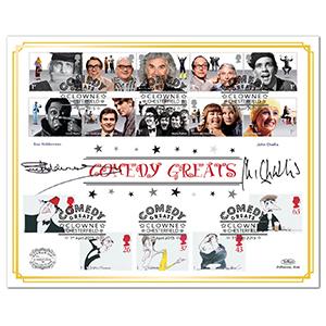 2015 Comedy Greats Benham 100 Cover Signed Sue Holderness & John Challis