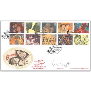 1995 Greetings - Signed Hugh Grant