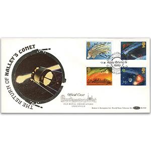 1986 Halley's Comet - Greenwich