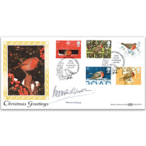 1995 Christmas - Signed Norman Widsom