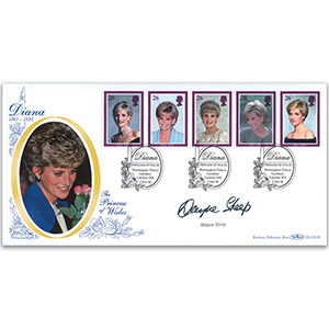 1998 Diana, Princess of Wales Commemoration - Signed Wayne Sleep