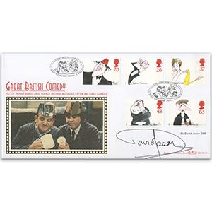 1998 Comedians BLCS - Slade, Devon - Signed by Sir David Jason OBE
