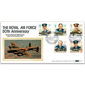 1986 RAF Flown Cover