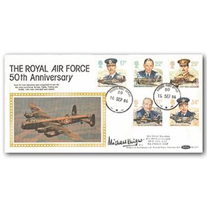 1986 RAF 50th Anniversary - Signed ACM Sir Michael Knight