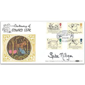 1998 Edward Lear - Signed Spike Milligan