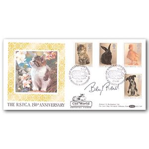 1990 RSPCA 150th Anniversary - Signed Beryl Reid