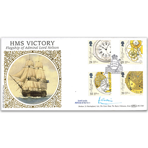 1993 Ship Clocks Signed Lord Lewin
