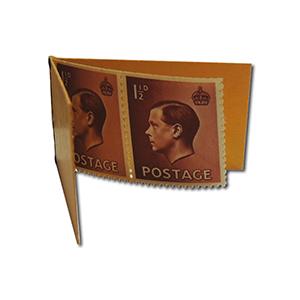 1936 Edward VIII 6d stamp booklet
