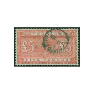 1882 £5 Orange