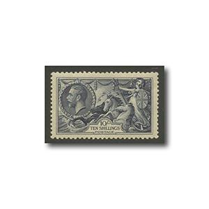 1934 10/- Re engraved u/m