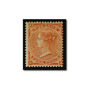 1862 4d pale red