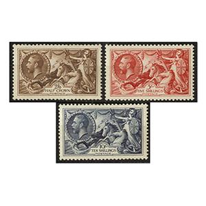 1934 Re-engraved set um. SG450/2