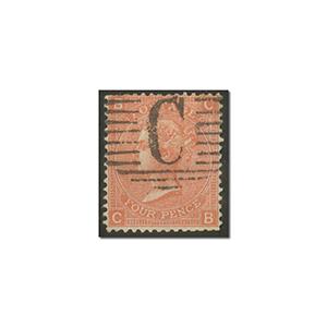QV 4d Vermillion used 'Constantinople'