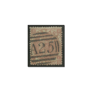 QV 10d red-brown used 'Malta'