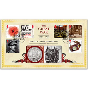 2018 The Great War Special Coin Cover