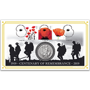 2019 Remembrance 100th Anniversary Special Coin Cover