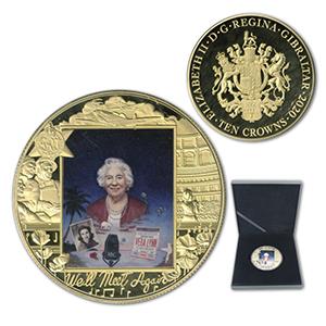 2020 Gibraltar Dame Vera Lynn 10 Crown Coin