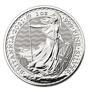 2021 Silver One Ounce Britannia