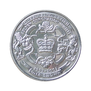 IOM 2003 Golden Jubilee Crown