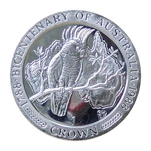 IOM 1988 Bicentenary of Australia Crown