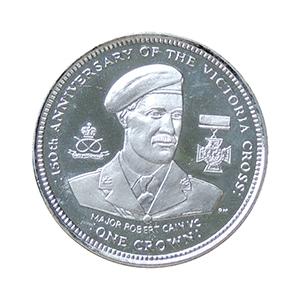 IOM 2006 Major Robert Cain Victoria Cross Crown