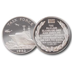 Task Force 1982 Medallion