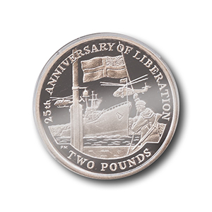 South Georgia Falklands Coin