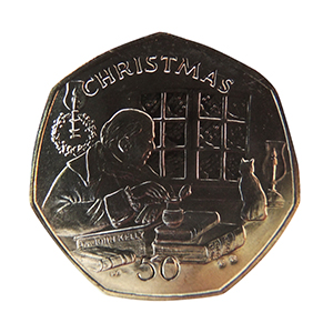 2000 Isle of Man 'Dr. Kelly' Christmas 50p