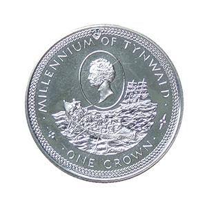 IOM 1979 Millennium of Tynwald (Rowing Boat) Crown
