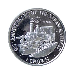 IOM 1998 125th Anniversary Steam Railway - The Sutherland Crown