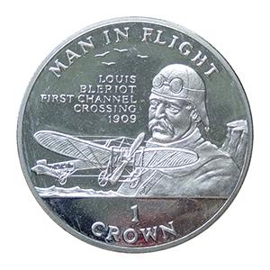 IOM 1994 Man In Flight - Bleriot Crown