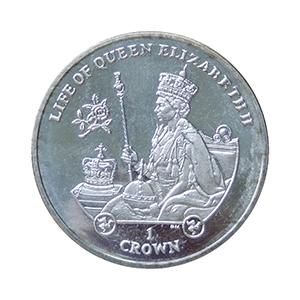 IOM 2012 Life of Queen Elizabeth II Crown & Sceptre Crown Coin