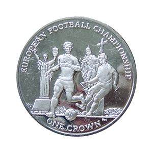 IOM 2012 European Football Championship Crown