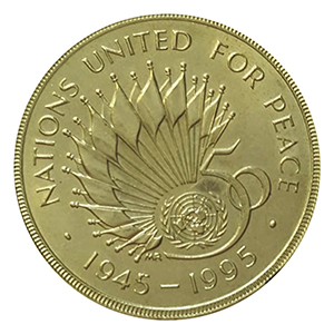 1995 Nations United for Peace £2 Coin