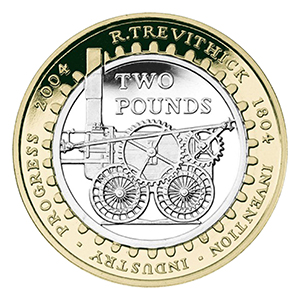 2004 Trevithick £2 coin