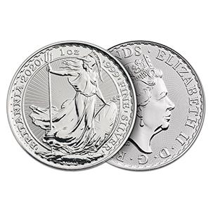 2020 Silver 1oz Britannia