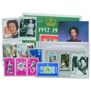Jubilee & Coronation mint stamps