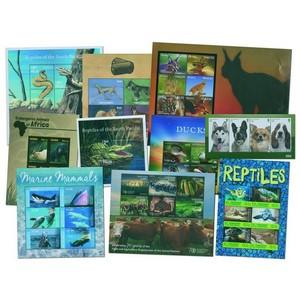 Wildlife collection of 27 mint stamps/sheets