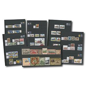 Railway Philatelic Collection (5 albums)
