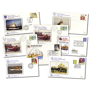 Lifeboat FDC Collection (8 albums)