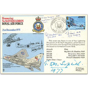 No. 56 Squadron - Signed by 4