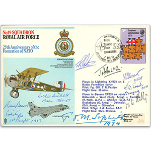 No. 19 Squadron - Signed by 8