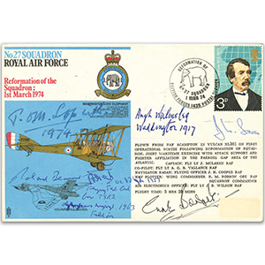 No. 27 Squadron - Signed by 6