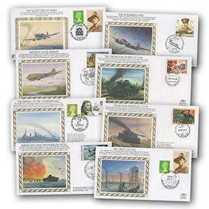 Benham 50th Anniversary of World War II Collection - 150 Covers