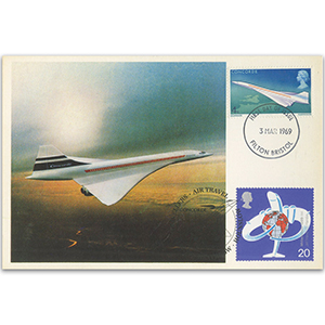 1969 Concorde 4d dbld Heathrow 30th Anniversary