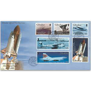 2003 Gibraltar Anniversary of Powered Flight FDC