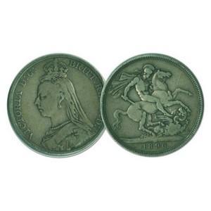 1890 Silver Crown Coin