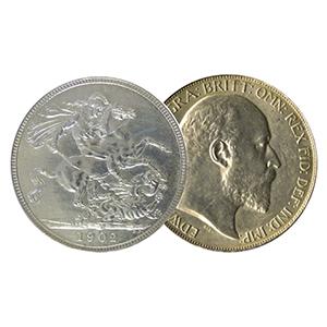 1902 Silver Crown Coin