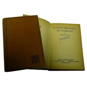 Watch the Wall, My Darling by Elizabeth Hunter Signed