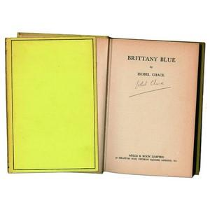 Brittany Blue by Isobel Chace. Sig - 1st Ed.